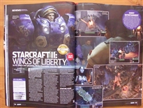 PC Zone Issue 225 StarCraft II Review Page 1