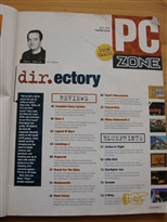 PC Zone Issue 1 Contents Page 1
