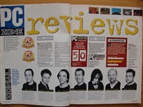 PC Zone Issue 1 Reviews and Team Page