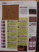 PC Zone Issue 1 Ultima Underworld II Review Page 3
